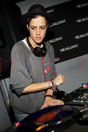 NEW YORK, NY - DECEMBER 04:  DJ Samantha Ronson performs at the grand opening celebration at The Dalloway on December 4, 2012 in New York City.