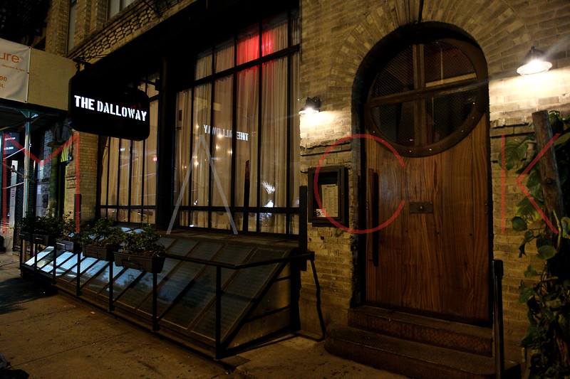 NEW YORK, NY - DECEMBER 04:  Atmosphere (exterior) at the grand opening celebration at The Dalloway on December 4, 2012 in New York City.  (Photo by Steve Mack/S.D. Mack Pictures)
