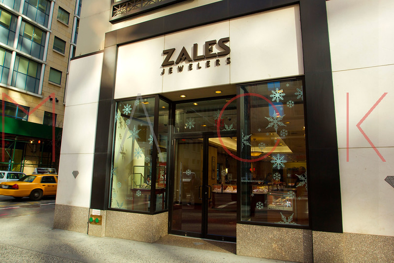 NEW YORK, NY - DECEMBER 13:  Zales Holiday Windows on December 13, 2012 in New York City.  (Photo by Steve Mack/S.D. Mack Pictures)