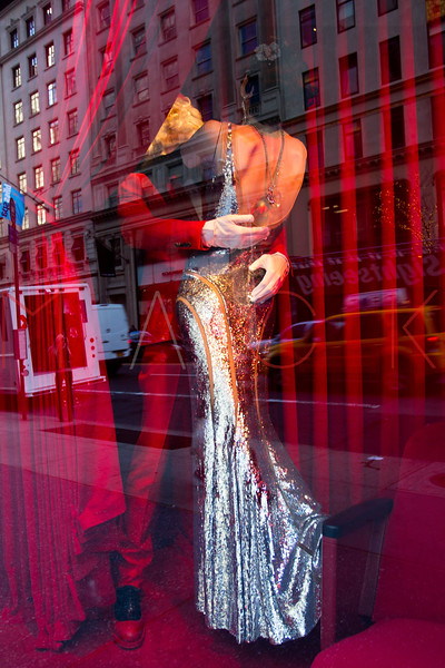 NEW YORK, NY - DECEMBER 13:  Bergdorf Goodman Holiday Windows on December 13, 2012 in New York City.  (Photo by Steve Mack/S.D. Mack Pictures)