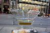 NEW YORK, NY - DECEMBER 13:  Menorah Ice Sculpture on December 13, 2012 in New York City.  (Photo by Steve Mack/S.D. Mack Pictures)