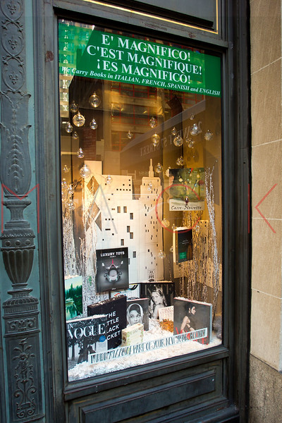 NEW YORK, NY - DECEMBER 13:  Rizzoli Holiday Windows on December 13, 2012 in New York City.  (Photo by Steve Mack/S.D. Mack Pictures)