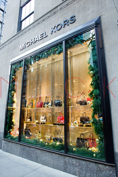 NEW YORK, NY - DECEMBER 13:  Michael Kors Holiday Windows on December 13, 2012 in New York City.  (Photo by Steve Mack/S.D. Mack Pictures)