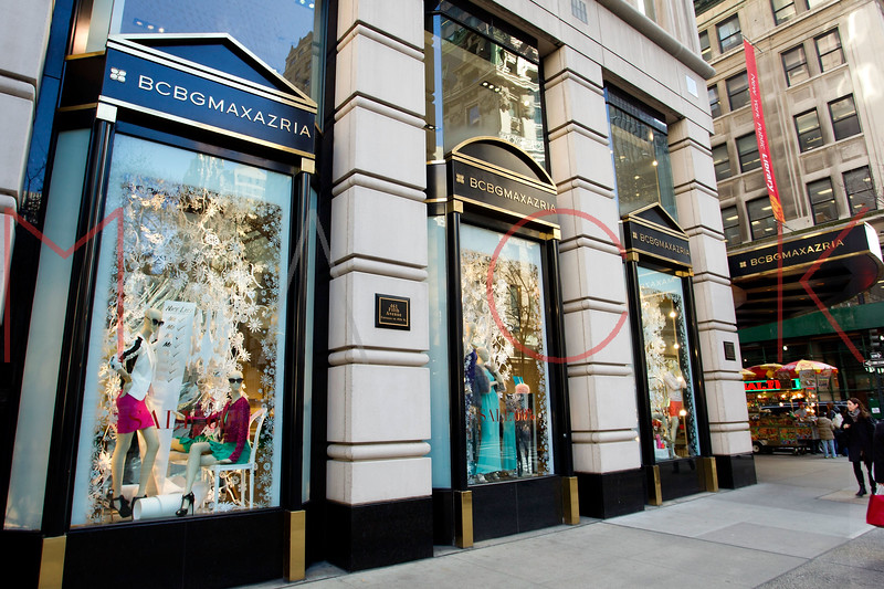 NEW YORK, NY - DECEMBER 13:  BCBG Maxazria Holiday Windows on December 13, 2012 in New York City.  (Photo by Steve Mack/S.D. Mack Pictures)
