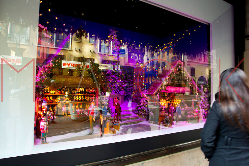 NEW YORK, NY - DECEMBER 13:  Lord & Taylor Holiday Windows on December 13, 2012 in New York City.  (Photo by Steve Mack/S.D. Mack Pictures)