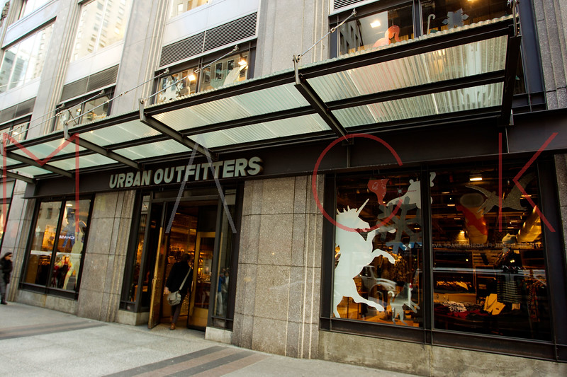 NEW YORK, NY - DECEMBER 13:  Urban Outfitters Holiday Windows on December 13, 2012 in New York City.  (Photo by Steve Mack/S.D. Mack Pictures)