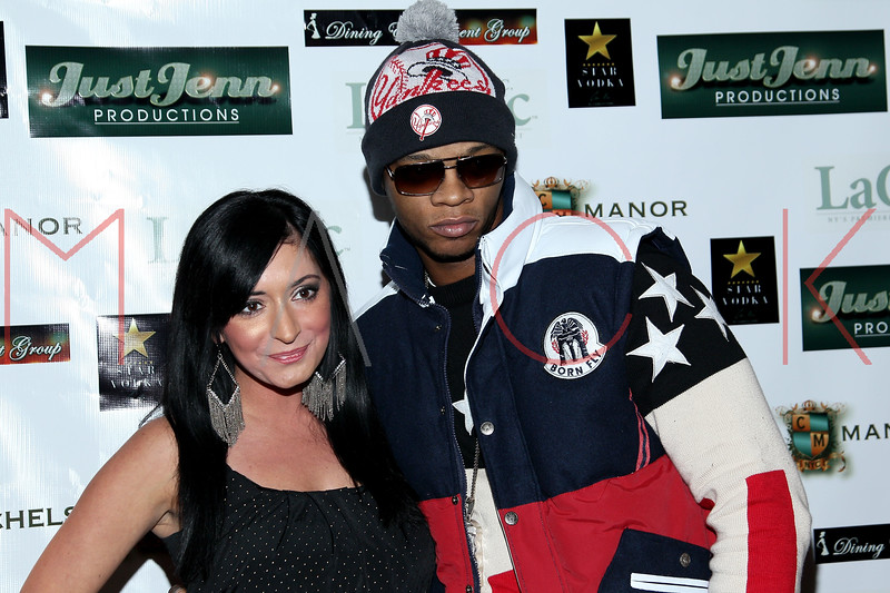 NEW YORK, NY - DECEMBER 14:  Angelina Pivarnick and Papoose attend the Operation Mob Wives Saving Lives Hurricane Sandy Benefit at Chelsea Manor on December 14, 2012 in New York City.  (Photo by Steve Mack/S.D. Mack Pictures)