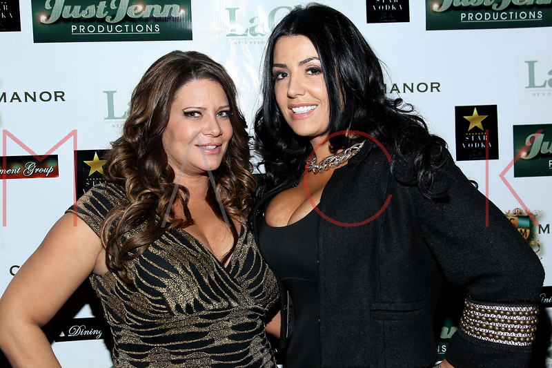 NEW YORK, NY - DECEMBER 14:  Karen Gravano and Ramona Rizzo attend the Operation Mob Wives Saving Lives Hurricane Sandy Benefit at Chelsea Manor on December 14, 2012 in New York City.  (Photo by Steve Mack/S.D. Mack Pictures)