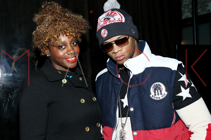 NEW YORK, NY - DECEMBER 14:  Celebrity Publicist Marie Driven and Papoose attend the Operation Mob Wives Saving Lives Hurricane Sandy Benefit at Chelsea Manor on December 14, 2012 in New York City.  (Photo by Steve Mack/S.D. Mack Pictures)