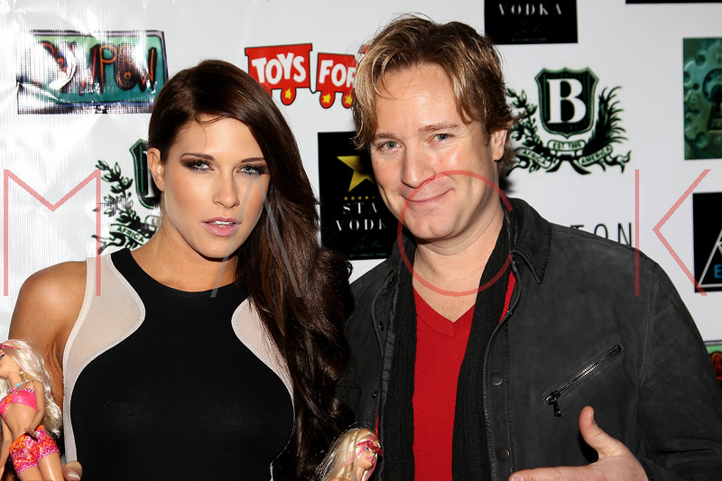 NEW YORK, NY - DECEMBER 15:  Barbie Blank and Rob Schaffer aka Prince Charming attend Hurricane Sandy Toys For Tots Benefit hosted by Boss Models And Barbie Blank on December 15, 2012 in New York, United States.  (Photo by Steve Mack/S.D. Mack Pictures)