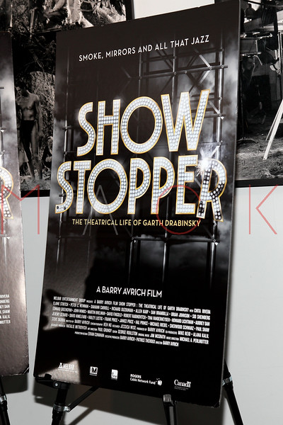 """NEW YORK, NY - DECEMBER 16:  Atmosphere (movie poster) at the """"Show Stopper"""" premiere at the DGA Theater on December 16, 2012 in New York City.  (Photo by Steve Mack/S.D. Mack Pictures)"""