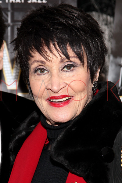 "NEW YORK, NY - DECEMBER 16:  Chita Rivera attends the ""Show Stopper"" premiere at the DGA Theater on December 16, 2012 in New York City.  (Photo by Steve Mack/S.D. Mack Pictures)"