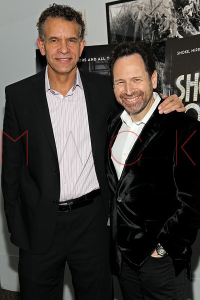 "NEW YORK, NY - DECEMBER 16:  Brian Stokes Mitchell and Barry Avrich attend the ""Show Stopper"" premiere at the DGA Theater on December 16, 2012 in New York City.  (Photo by Steve Mack/S.D. Mack Pictures)"