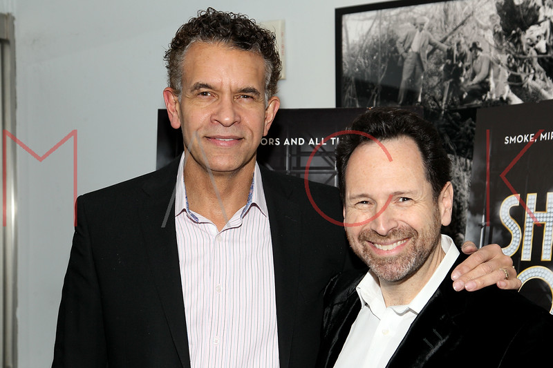 """NEW YORK, NY - DECEMBER 16:  Brian Stokes Mitchell and Barry Avrich attend the """"Show Stopper"""" premiere at the DGA Theater on December 16, 2012 in New York City.  (Photo by Steve Mack/S.D. Mack Pictures)"""