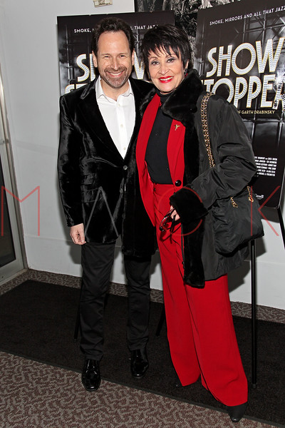 "NEW YORK, NY - DECEMBER 16:  Barry Avrich and Chita Rivera attend the ""Show Stopper"" premiere at the DGA Theater on December 16, 2012 in New York City.  (Photo by Steve Mack/S.D. Mack Pictures)"