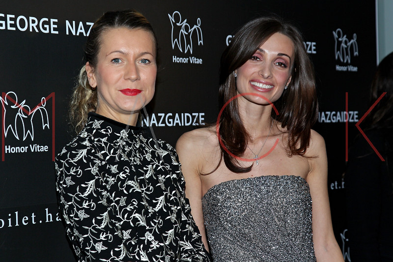NEW YORK, NY - DECEMBER 17:  Natalie Joos and Mariam Kinkladze attend Charity Meets Fashion 2012 at Affirmation Arts on December 17, 2012 in New York City.  (Photo by Steve Mack/S.D. Mack Pictures)