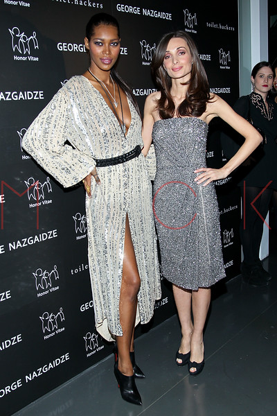 NEW YORK, NY - DECEMBER 17:  Jessica Williams and Mariam Kinkladze attend Charity Meets Fashion 2012 at Affirmation Arts on December 17, 2012 in New York City.  (Photo by Steve Mack/S.D. Mack Pictures)