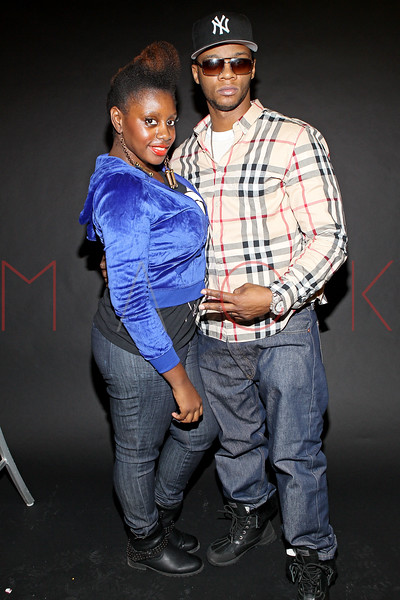 NEW YORK, NY - DECEMBER 20:  Marie Driven, celebrity publicist and recording artist Papoose attend the Papoose press day at John Ricard Studio on December 20, 2012 in New York City.  (Photo by Steve Mack/S.D. Mack Pictures)