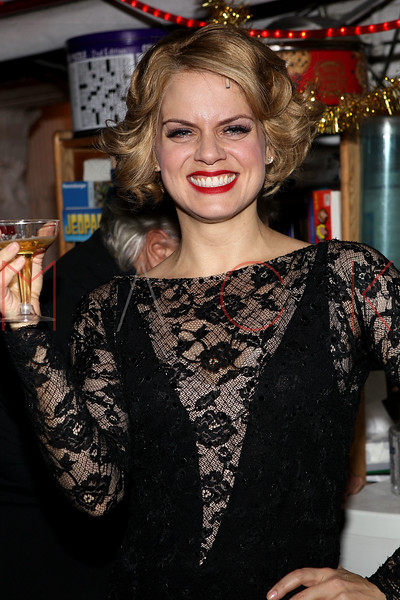 """NEW YORK, NY - DECEMBER 20:  Amy Spanger attends """"Chicago"""" Broadway Musical Record Breaking Performance Celebration at Ambassador Theatre on December 20, 2012 in New York City.  (Photo by Steve Mack/S.D. Mack Pictures)"""