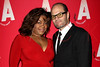 "NEW YORK, NY - DECEMBER 12:  Actors Da'Vine Joy Randolph and Chris Bauer attend the ""What Rhymes With American"" Opening Night After Party at Moran's Restaurant on December 12, 2012 in New York City.  (Photo by Steve Mack/S.D. Mack Pictures)"