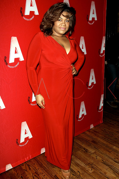 "NEW YORK, NY - DECEMBER 12:  Actress Da'Vine Joy Randolph attends ""What Rhymes With American"" Opening Night After Party at Moran's Restaurant on December 12, 2012 in New York City.  (Photo by Steve Mack/S.D. Mack Pictures)"