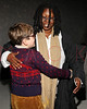 "NEW YORK, NY - DECEMBER 04:  Johnny Rabe and Whoopi Goldberg back stage at ""A Christmas Story, The Musical"" on December 4, 2012 in New York City.  (Photo by Steve Mack/S.D. Mack Pictures)"