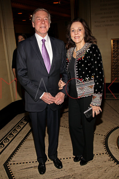 NEW YORK, NY - FEBRUARY 27:  George and Shiela Stephenson attend the 2012 New Yorker for New York gala at Gotham Hall on February 27, 2012 in New York City.  (Photo by Steve Mack/S.D. Mack Pictures)
