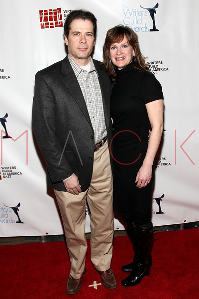 NEW YORK, NY - FEBRUARY 19:  Writer/attorney Joe Tiboni and his wife attorney Jane Tiboni attend the 2012 Writers Guild East Coast Awards at B.B. King Blues Club & Grill on February 19, 2012 in New York City.  (Photo by Steve Mack/S.D. Mack Pictures)