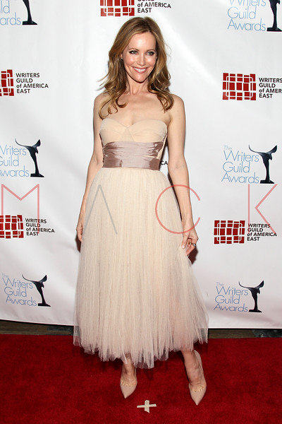 NEW YORK, NY - FEBRUARY 19:  Actress Leslie Mann attends the 2012 Writers Guild East Coast Awards at B.B. King Blues Club & Grill on February 19, 2012 in New York City.  (Photo by Steve Mack/S.D. Mack Pictures)
