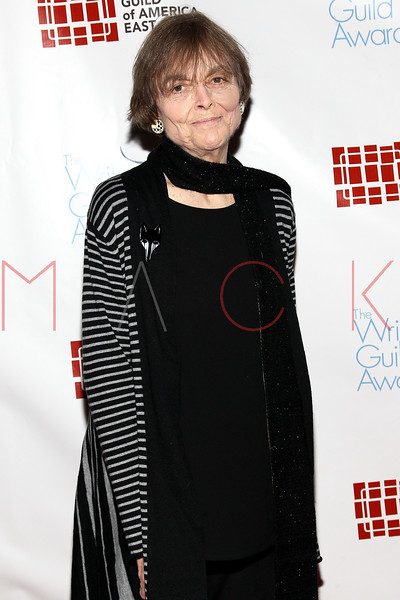 NEW YORK, NY - FEBRUARY 19:  Soap opera writer and producer Claire Labine attends the 2012 Writers Guild East Coast Awards at B.B. King Blues Club & Grill on February 19, 2012 in New York City.  (Photo by Steve Mack/S.D. Mack Pictures)