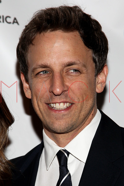 NEW YORK, NY - FEBRUARY 19:  Saturday Night Live writer and comedian Seth Myers attends the 2012 Writers Guild East Coast Awards at B.B. King Blues Club & Grill on February 19, 2012 in New York City.  (Photo by Steve Mack/S.D. Mack Pictures)