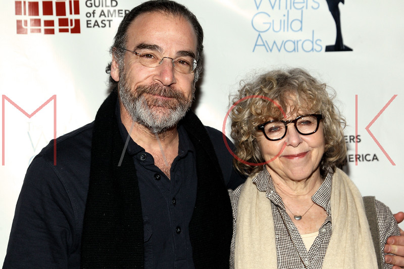 NEW YORK, NY - FEBRUARY 19:  Actor Mandy Patinkin and Kathryn Grody attend the 2012 Writers Guild East Coast Awards at B.B. King Blues Club & Grill on February 19, 2012 in New York City.  (Photo by Steve Mack/S.D. Mack Pictures)