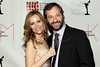 NEW YORK, NY - FEBRUARY 19:  Actress Leslie Mann and director and writer Judd Apatow attend the 2012 Writers Guild East Coast Awards at B.B. King Blues Club & Grill on February 19, 2012 in New York City.  (Photo by Steve Mack/S.D. Mack Pictures)