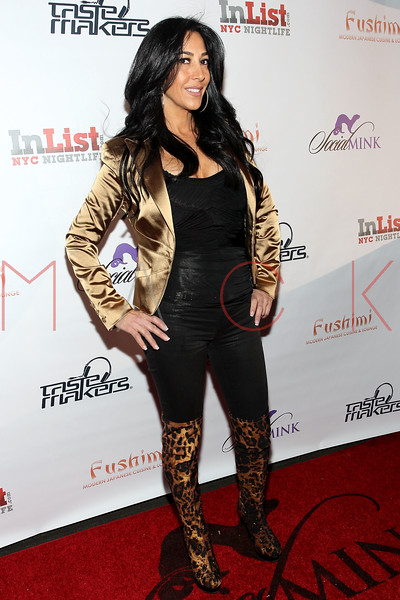 NEW YORK, NY - FEBRUARY 17:  TV personality and 'Mob Wives' cast member Carla Facciolo attends the Fushimi Williamsburg opening on February 17, 2012 in the Brooklyn Borough of New York City.  (Photo by Steve Mack/S.D. Mack Pictures)