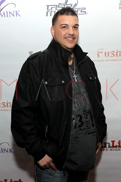 NEW YORK, NY - FEBRUARY 17:  TV personality Dimitrios Verteouris of Food Network's 'Fat Chef' attends the Fushimi Williamsburg opening on February 17, 2012 in the Brooklyn Borough of New York City.  (Photo by Steve Mack/S.D. Mack Pictures)
