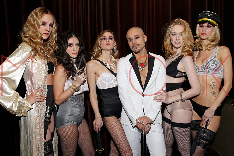 NEW YORK, NY - FEBRUARY 09:  Armada,  Insidia, Katana, Stiletto, Boia and Vendetta attend the Houghton Fall/Winter 2012 After Party at The Salon at the Tribeca Grand Hotel on February 9, 2012 in New York City.  (Photo by Steve Mack/S.D. Mack Pictures)