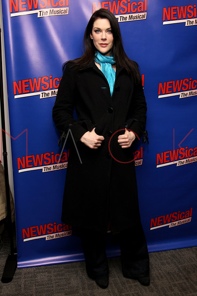"NEW YORK, NY - FEBRUARY 01:  Kim Director attends the opening night of ""NEWSical the Musical: End of the World Edition"" at the  The Kirk Theater at Theatre Row on February 1, 2012 in New York City.  (Photo by Steve Mack/S.D. Mack Pictures)"