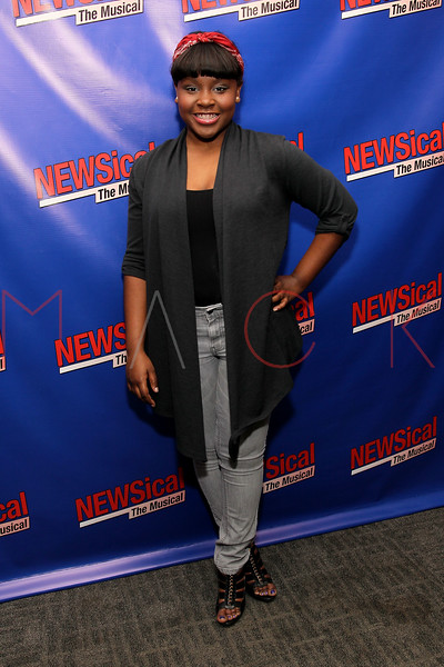 """NEW YORK, NY - FEBRUARY 01:  Chanel Edmonds attends the opening night of """"NEWSical the Musical: End of the World Edition"""" at the  The Kirk Theater at Theatre Row on February 1, 2012 in New York City.  (Photo by Steve Mack/S.D. Mack Pictures)"""