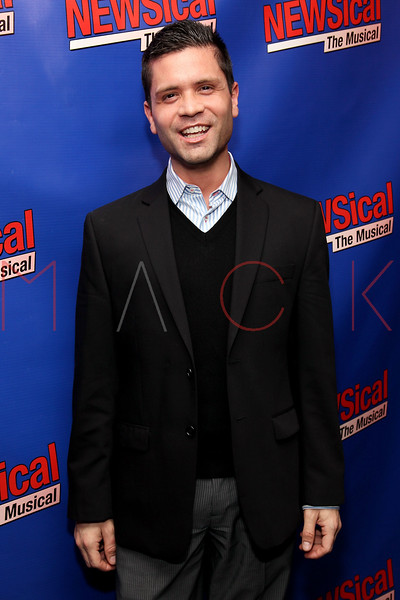 "NEW YORK, NY - FEBRUARY 01:  David Bryant attends the opening night of ""NEWSical the Musical: End of the World Edition"" at the  The Kirk Theater at Theatre Row on February 1, 2012 in New York City.  (Photo by Steve Mack/S.D. Mack Pictures)"
