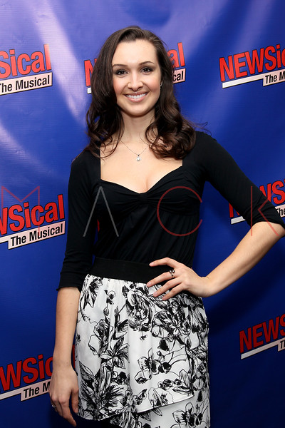 "NEW YORK, NY - FEBRUARY 01:  Lara Seibert attends the opening night of ""NEWSical the Musical: End of the World Edition"" at the  The Kirk Theater at Theatre Row on February 1, 2012 in New York City.  (Photo by Steve Mack/S.D. Mack Pictures)"