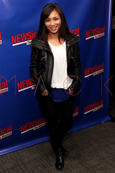 "NEW YORK, NY - FEBRUARY 01:  Jennifer Paz attends the opening night of ""NEWSical the Musical: End of the World Edition"" at the  The Kirk Theater at Theatre Row on February 1, 2012 in New York City.  (Photo by Steve Mack/S.D. Mack Pictures)"