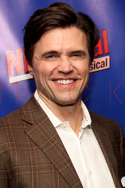 "NEW YORK, NY - FEBRUARY 01:  Brent Barrett attends the opening night of ""NEWSical the Musical: End of the World Edition"" at the  The Kirk Theater at Theatre Row on February 1, 2012 in New York City.  (Photo by Steve Mack/S.D. Mack Pictures)"