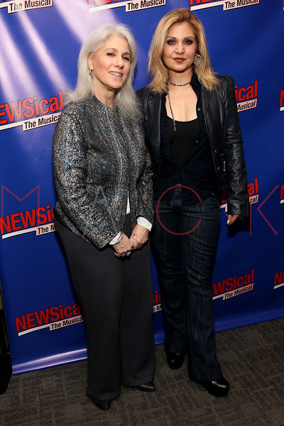 "NEW YORK, NY - FEBRUARY 01:  Jamie de Roy and Orfeh attend the opening night of ""NEWSical the Musical: End of the World Edition"" at the  The Kirk Theater at Theatre Row on February 1, 2012 in New York City.  (Photo by Steve Mack/S.D. Mack Pictures)"