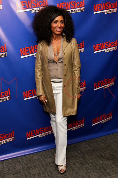 "NEW YORK, NY - FEBRUARY 01:  Maya Days attends the opening night of ""NEWSical the Musical: End of the World Edition"" at the  The Kirk Theater at Theatre Row on February 1, 2012 in New York City.  (Photo by Steve Mack/S.D. Mack Pictures)"