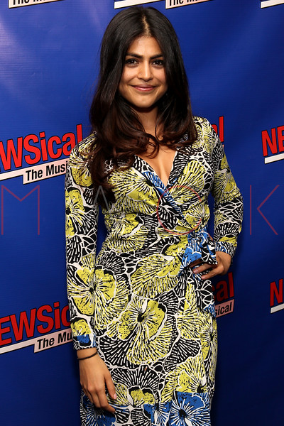 """NEW YORK, NY - FEBRUARY 01:  Shenaz Treasury attends the opening night of """"NEWSical the Musical: End of the World Edition"""" at the  The Kirk Theater at Theatre Row on February 1, 2012 in New York City.  (Photo by Steve Mack/S.D. Mack Pictures)"""