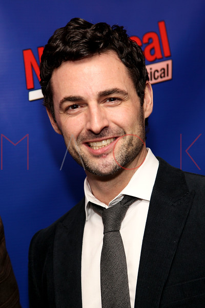 "NEW YORK, NY - FEBRUARY 01:  Max Von Essen attends the opening night of ""NEWSical the Musical: End of the World Edition"" at the  The Kirk Theater at Theatre Row on February 1, 2012 in New York City.  (Photo by Steve Mack/S.D. Mack Pictures)"