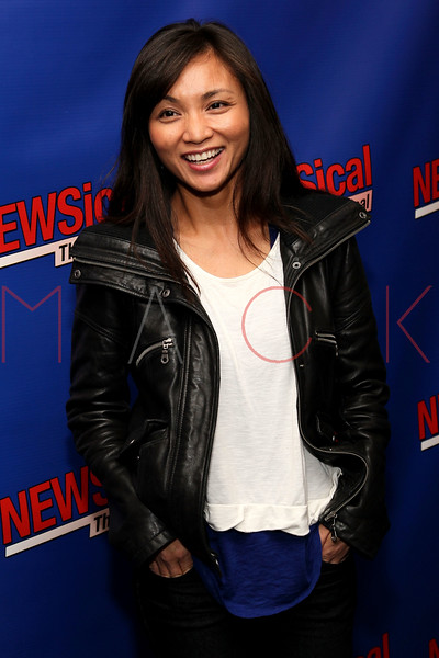 """NEW YORK, NY - FEBRUARY 01:  Jennifer Paz attends the opening night of """"NEWSical the Musical: End of the World Edition"""" at the  The Kirk Theater at Theatre Row on February 1, 2012 in New York City.  (Photo by Steve Mack/S.D. Mack Pictures)"""
