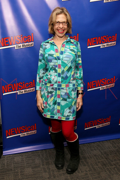 "NEW YORK, NY - FEBRUARY 01:  Jackie Hoffman attends the opening night of ""NEWSical the Musical: End of the World Edition"" at the  The Kirk Theater at Theatre Row on February 1, 2012 in New York City.  (Photo by Steve Mack/S.D. Mack Pictures)"