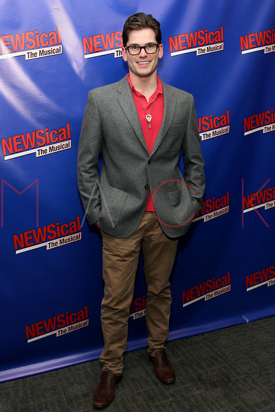 "NEW YORK, NY - FEBRUARY 01:  Alex Ringler attends the opening night of ""NEWSical the Musical: End of the World Edition"" at the  The Kirk Theater at Theatre Row on February 1, 2012 in New York City.  (Photo by Steve Mack/S.D. Mack Pictures)"
