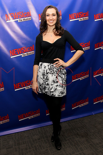 """NEW YORK, NY - FEBRUARY 01:  Lara Seibert attends the opening night of """"NEWSical the Musical: End of the World Edition"""" at the  The Kirk Theater at Theatre Row on February 1, 2012 in New York City.  (Photo by Steve Mack/S.D. Mack Pictures)"""